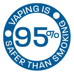 95 percent safer